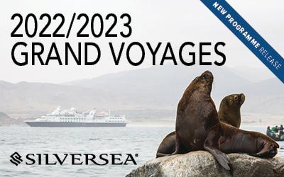 Silversea - Grand Voyages 2022/2023