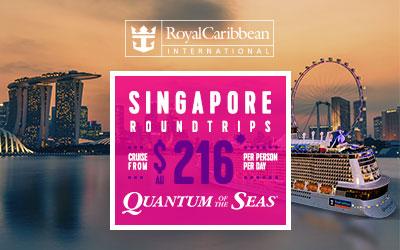 Royal Caribbean - Quantum Singapore