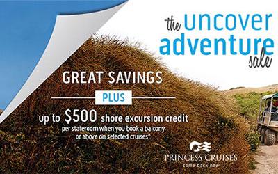 The Uncover Adventure Sale