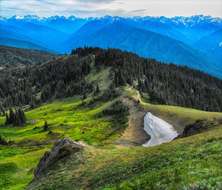 Western Landscapes and the Alaskan Emerald