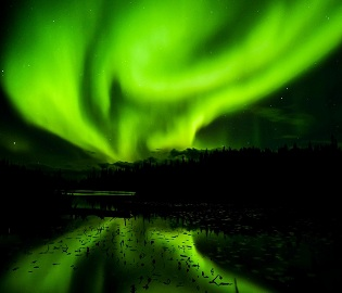 Chasing the Northern Lights with Viking