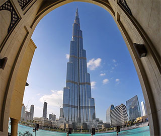 Burj Khalifa to London Bridge
