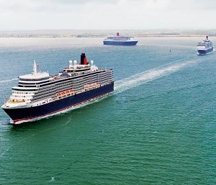Three Queens: Transatlantic, England, Ireland to Norway