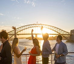 Food & Wine Themed Cruise from Sydney