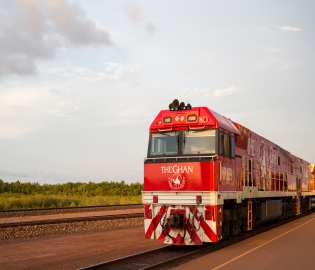 The Ghan & Queen Elizabeth