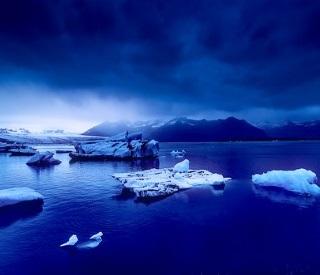 Iceland and the Irish Sea