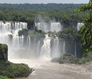 Antarctic Peninsula with Iguazu Falls
