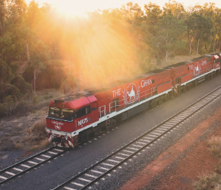 RAIL & SAIL The Ghan to Sydney Harbour
