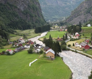 Norwegian Fjords and the Crossing