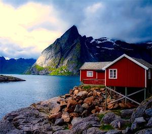 Norwegian Fjords, Scandinavia & Russia