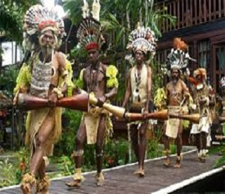 Depths of Papua New Guinea