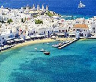 White Beaches and Blue Domes of Greece