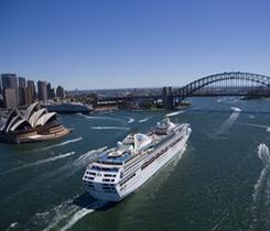 Brisbane to Sydney on Sun Princess