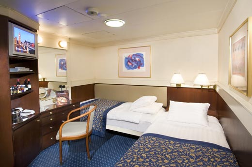 Standard or Single Interior Staterooms