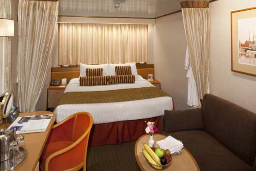 Large or Standard Interior Staterooms
