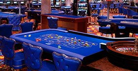 Norwegian Dawn cruise ship club casino and casinos at sea.