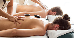 Mandara Spa's Hot Stone Massage