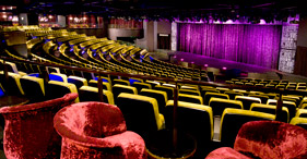 Norwegian Epic cruise ship The Epic Theater.
