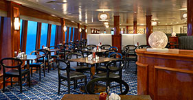 Norwegian Gem cruise ship Garden Café with buffet