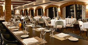 Norwegian Gem cruise ship La Cucina Italian Restaurant.