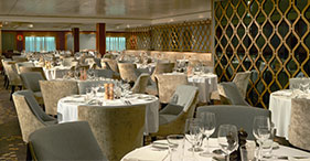 Norwegian Gem cruise ship Magenta Main Dining Room.