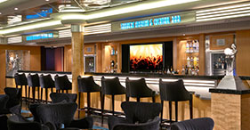 Norwegian Gem cruise ship Shakers Martini & Cocktail Bar.