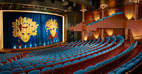 Norwegian Gem cruise ship Stardust Theatre featuring Broadway and Vegas-style sh