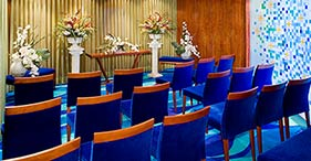 Norwegian Jade cruise ship Chapel can also be used as a meeting room.