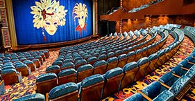 Norwegian Jade cruise ship Stardust Theater with Broadway and Vegas Style shows.