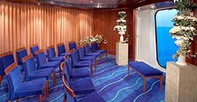 Norwegian Jewel cruise ship Chapel can also be used as a meeting room.