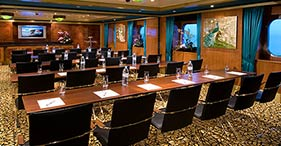 Norwegian Jewel cruise ship Meeting Rooms are available together or separately.