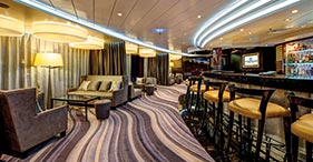 Norwegian Epic cruise ship The Epic Club, private dining for guests staying in T