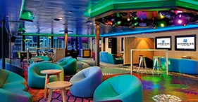 Norwegian Epic cruise ship Entourage Teen's Club for teens.