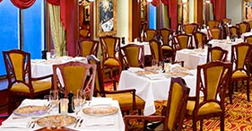 Norwegian Pearl cruise ship Le Bistro French Restaurant featuring authentic Fren