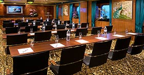 Norwegian Pearl cruise ship Meeting Rooms can be used together or separately