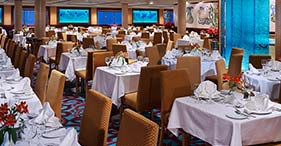 Norwegian Star cruise ship Aqua Main Dining Room.