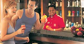 Norwegian Star cruise ship Barong Juice Bar.